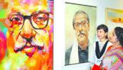 শিল্পকলায় মাসব্যাপী চিত্র প্রদর্শনী
