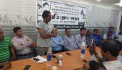 বেগম খালেদা জিয়ার গাড়ী বহরে হামলায় প্রতিবাদ