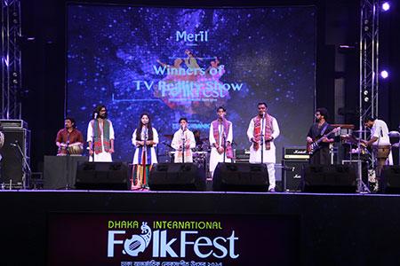 'ঢাকা আন্তর্জাতিক লোকসংগীত উৎসব ২০১৭'-এর পর্দা উঠলো