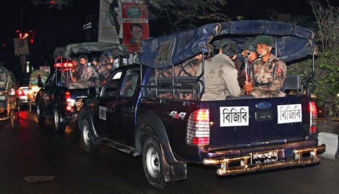 ঢাকায় বিজিবি মোতায়েন