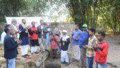 হাজীপুর সোসাইটির উদ্যোগে গৃহ নির্মাণ প্রকল্পের ভিত্তি প্রস্থর স্থাপন