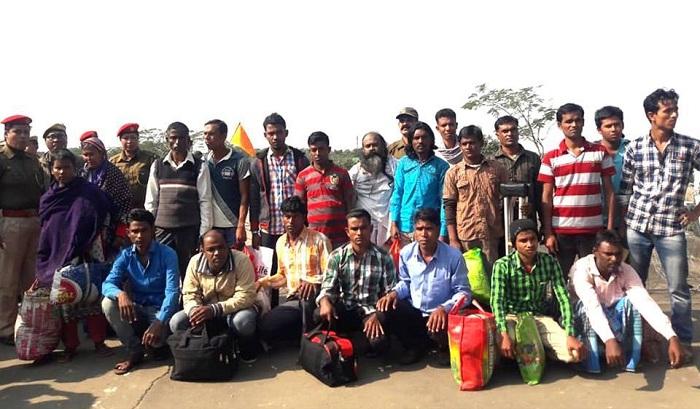 অবৈধ অনুপ্রবেশ: সুতারকান্দি দিয়ে ২১ বাংলাদেশিকে ফেরত পাঠিয়েছে ভারত