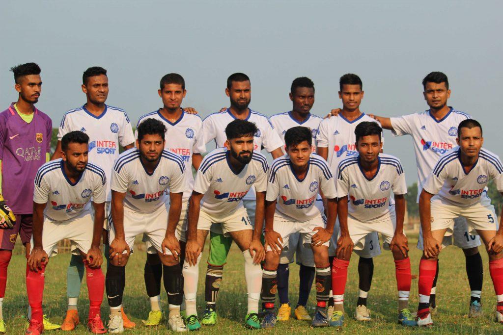 এমাদুল মান্নান তারহাম গোল্ডকাপ ফুটবল টুর্ণামেন্টে ফাইনালে কানিহাটি প্রগতি সংঘ