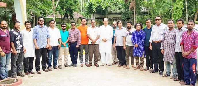 কুলাউড়ায় গণমাধ্যমকর্মীদের সাথে এম এম শাহীনের ঈদ পূর্নমিলনী