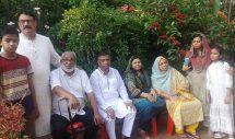 হাজীপুরে নয়াবাজার কেসি সভাপতি অসুস্থ রেজাউর রহমানকে দেখতে মেয়র আরিফুল হক চৌধুরী