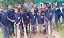 কানাইঘাট কে, এ,শিকদার একাডেমি সরকারি প্রাথমিক বিদ্যালয়ে পরিস্কার পরিচন্ননতা দিবস উদযাপন