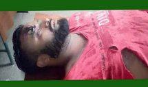 কমলগঞ্জের শমশেরনগরে সন্ত্রাসী হামলায় ব্যবসায়ী গুরুতর আহত