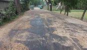 শমশেরনগর-মৌলভীবাজার সড়কের ২০ কিলোমিটার খানাখন্দে ভরা