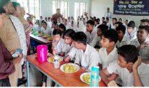কুলাউড়ার দিলদারপুর উচ্চ বিদ্যালয়ে মিড-ডে মিল চালু