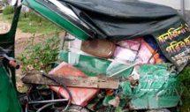 কুলাউড়ায় সড়ক দূর্ঘটনায় সিএনজি অটোরিক্সা চালক নিহত