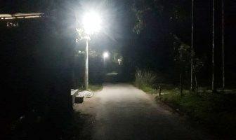 গুপ্তগ্রামে নিজস্ব অর্থায়নে রাস্তার পাশে ল্যাম্পপোস্ট স্থাপন