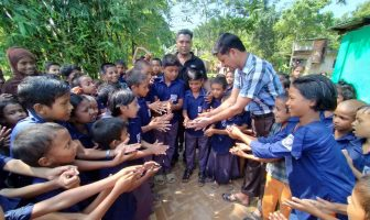 কে,এ,শিকদার একাডেমি সরকারি প্রাথমিক বিদ্যালয়ে বিশ্ব হাত ধোয়া দিবস পালিত