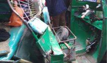 কাপাসিয়া যাত্রীবাহী বাস ও সিএনজি'র মুখোমুখি সংঘর্ষে ঘটনাস্থলেই ৩ জন নিহত