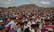 রায় রোহিঙ্গাদের পক্ষে আসায় ক্যাম্পে দোয়া মাহফিল