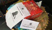 কুলাউড়ার কাদিপুরের করোনায় আক্রান্তদের বাড়িতে ফল আর চকলেট পাঠালেন প্রধানমন্তী