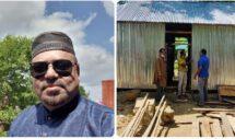 এমাদুল মান্নান চৌধুরী তারহাম এর অর্থায়নে হাজীপুরে টিন শেড ঘর নির্মান সম্পন্ন