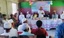 হাজীপুরে মরহুম হাজী আব্দুল মালিকের ১২ তম মৃত্যুবার্ষিকী তে দোয়া মাহফিল